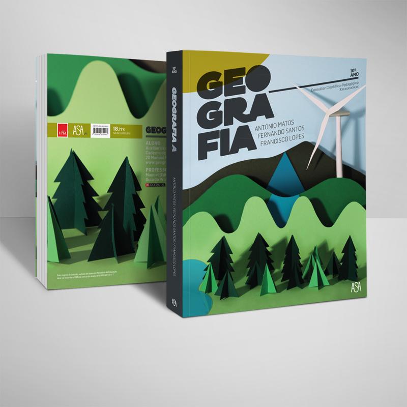 Projetos de capas para Manuais Escolares da ASA